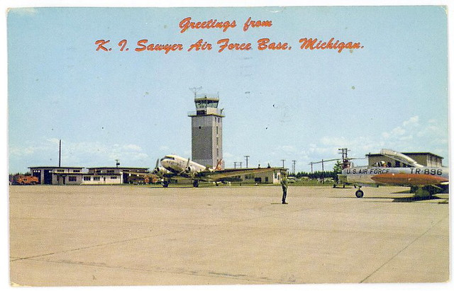 Gwinn MI UP K I Sawyer Air Force Base,