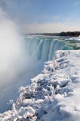 Lookup up at the Falls