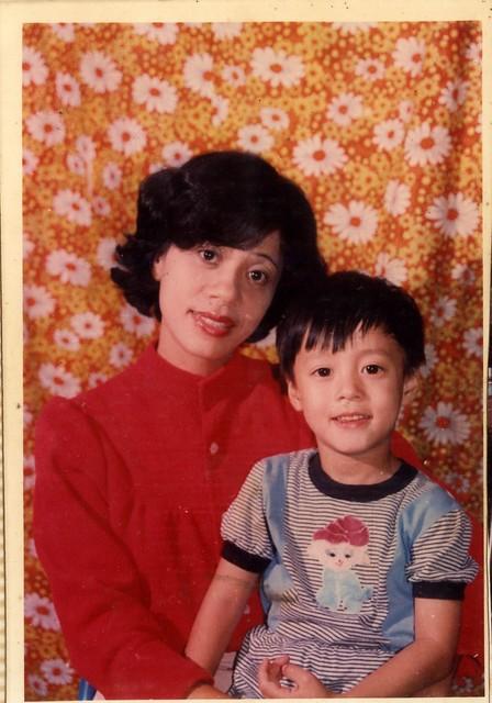 5Yo with Mom