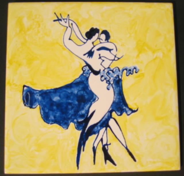 Danse-peinture sur carrelage - a photo on Flickriver