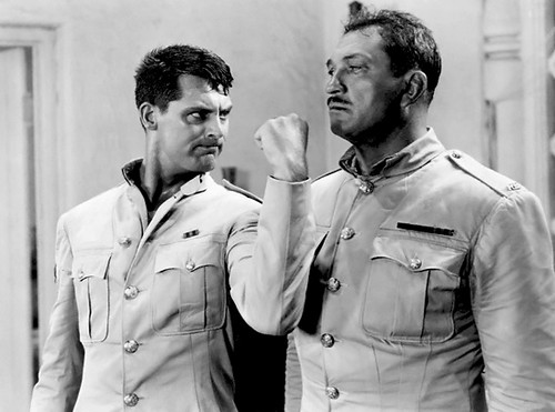 Cary Grant and Victor McLaglen