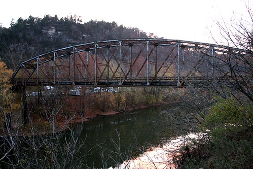 Abandoned Old Camp Nelson Bridge