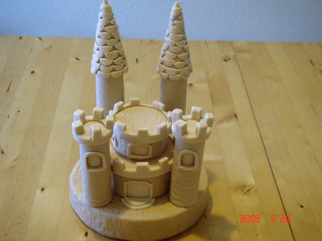 Sand Art Cake Mix : sand castle cake topper a fondant cake topper for a full ...