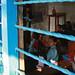 Through the window of a classroom at Shreeshitalacom Lower Secondary School