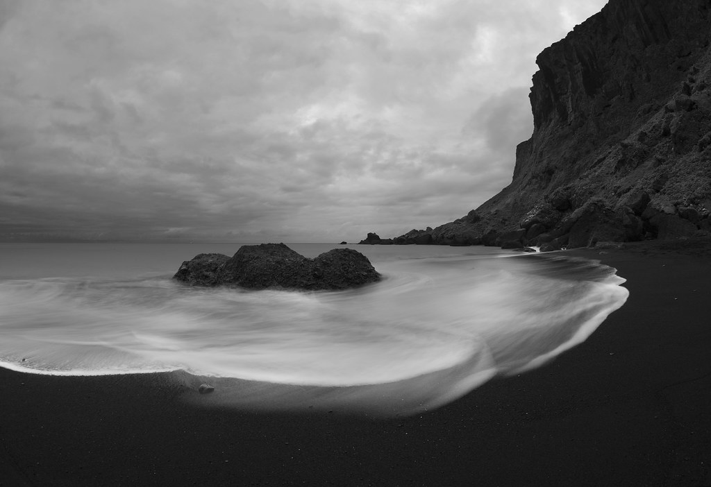 Love of black sand by Andri Elfarsson
