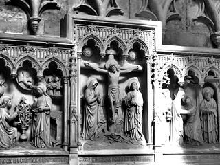 Image of Saint Michael and Gudula Cathedral. brussels en white black st michael cathedral belgium bruxelles cathédrale gudula sintmichiels blackwhitephotos saintsmicheletgudule sintgoedelekathedraal