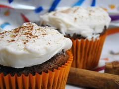 Bueno Champurrado Cupcake