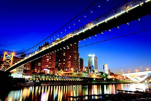 191I碧潭吊橋-夜景