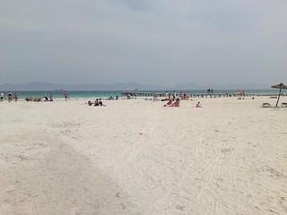 Imagine de Alcudia Beach (Platja d'Alcúdia). beach med mallorca