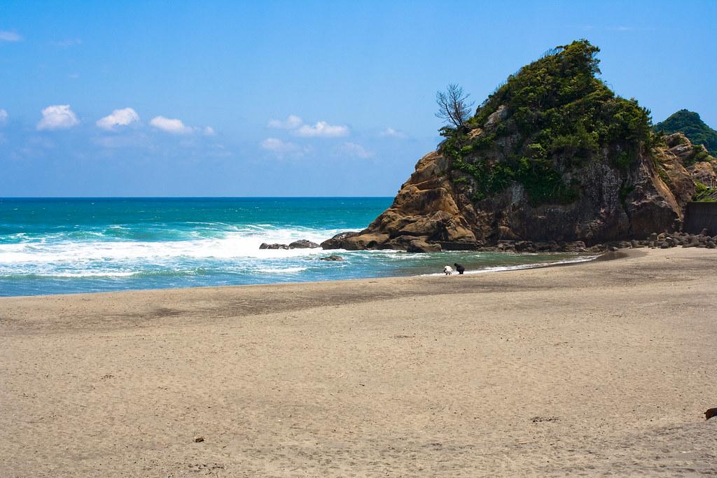 миядзаки пляж япония