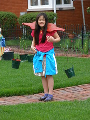 Sophia Carrying Water Pails