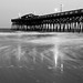Surfside Pier in B&W