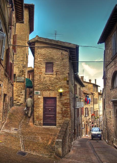 Narrow Streets Urbino Italy Flickr Sharing