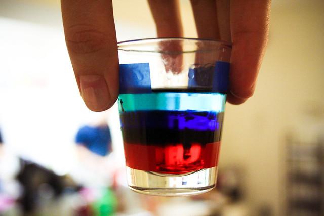 patriotic shot