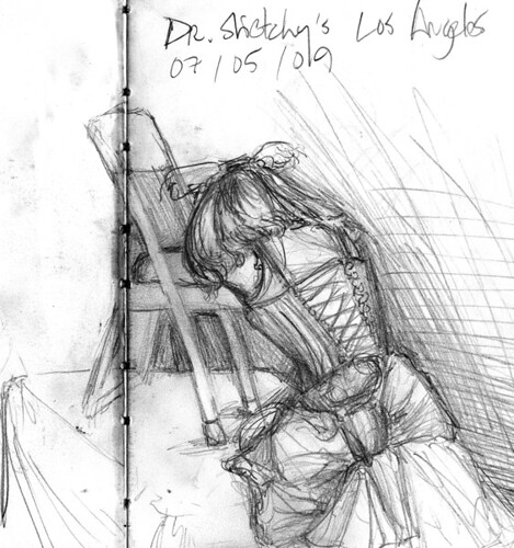 Dr Sketchy Los Angeles Session 2