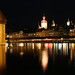 Lucerne by night, Switzerland by **Anik Messier**