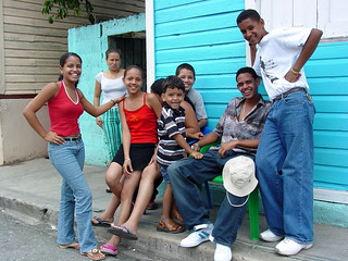Friendly Folks on the Street - San Jose de Ocoa - Dominican Republic