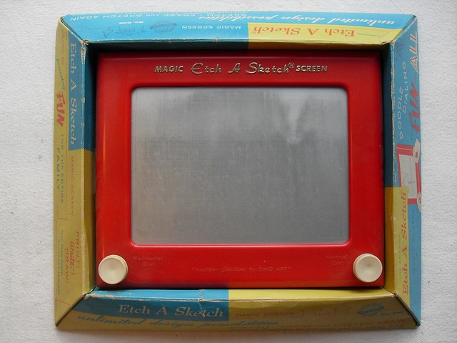 Etch A Sketch 1950s In Box - A Photo On Flickriver