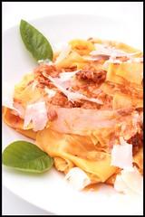 Pappardelle au haddock fumé et sauce de tomates séchées