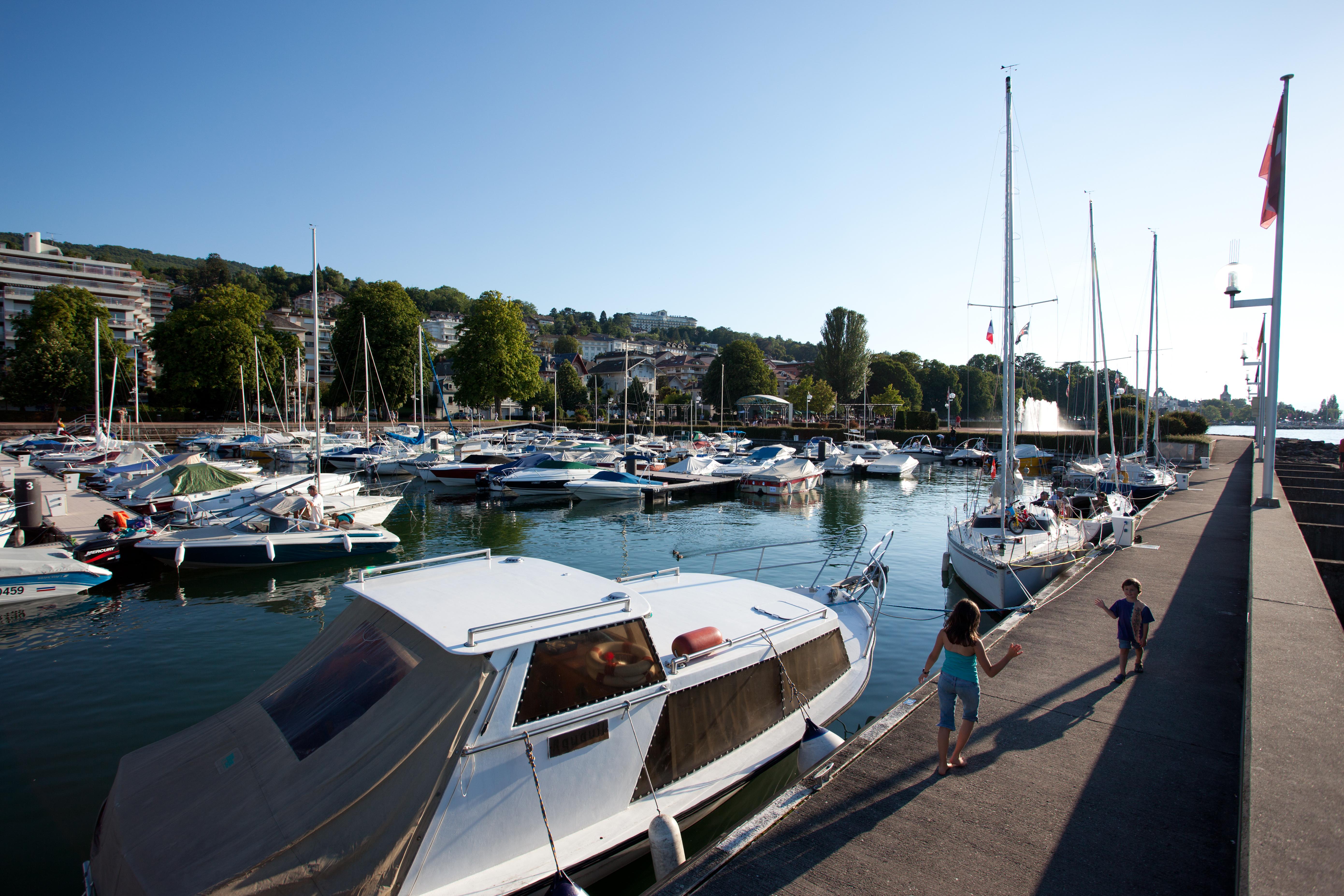 Port de plaisance - Bassin ouest près de l'esplanade