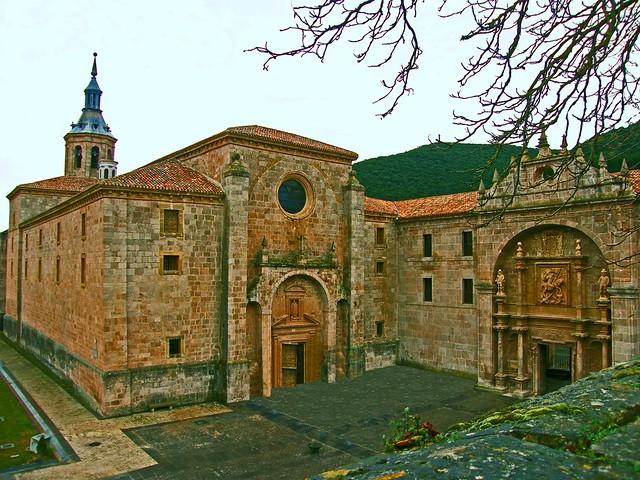 """MONESTIR DE YUSO S.XVI, San Millán de la Cogolla, La Rioja. (""""Lower Monastery of Saint Millan de la Cogolla, La Rioja. -16th cent.-"""")"""