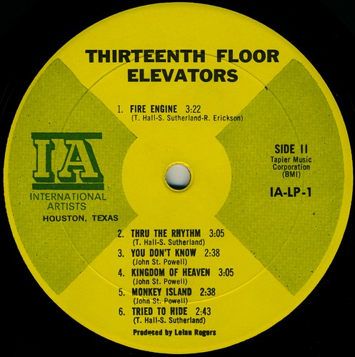 13th floor elevators the psychedelic sounds bed mattress for 13th floor elevators sign of the 3 eyed men