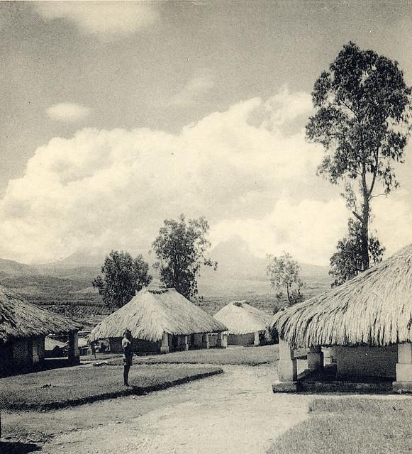 Rutshuru, Kivu Province, Congo in the 1940s