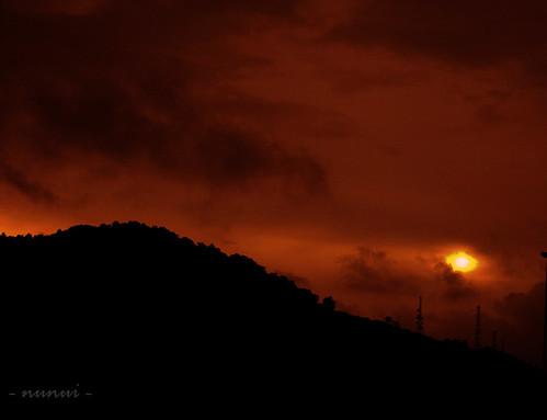 light sunset dusk perak tgmalim