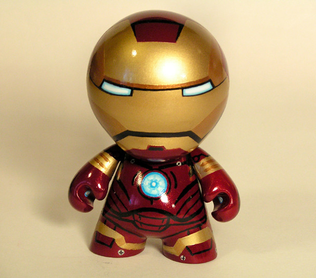 Iron man mini munny flickr photo sharing - Mini iron man ...