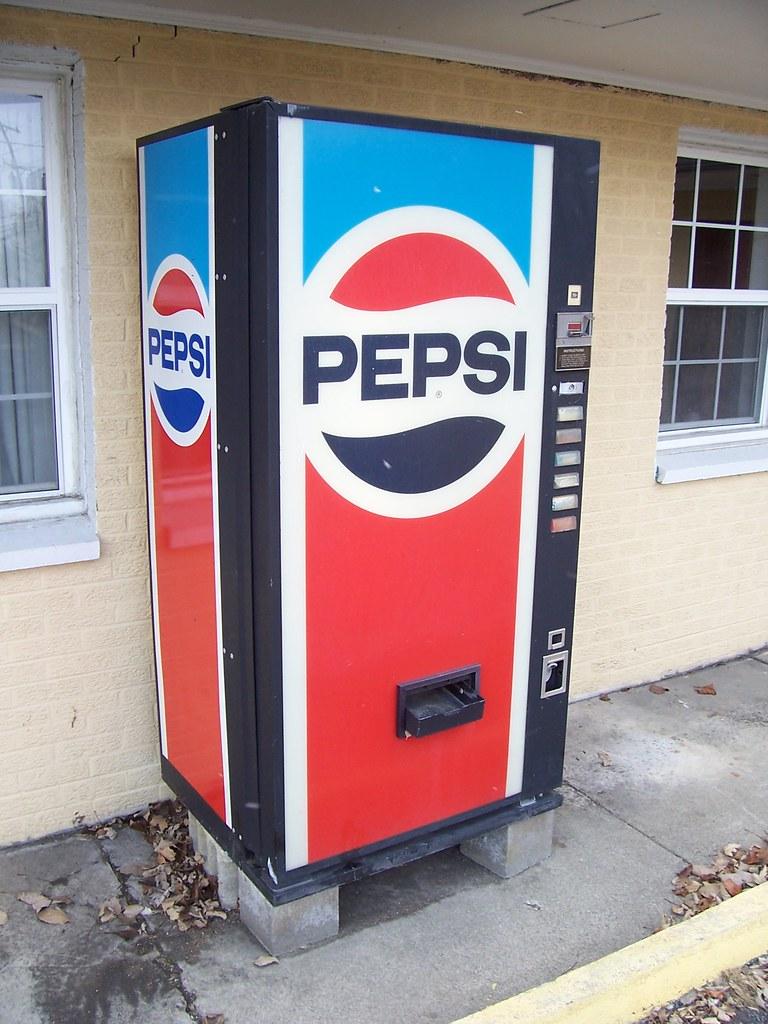 pepsi pop machine