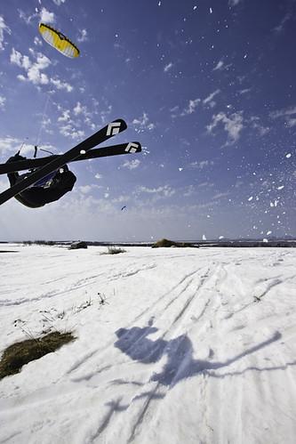 Kite ski