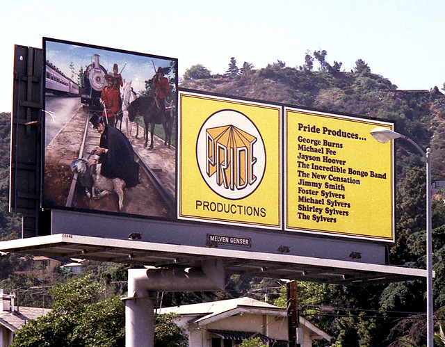 Billboards on Sunset Blvd. #10