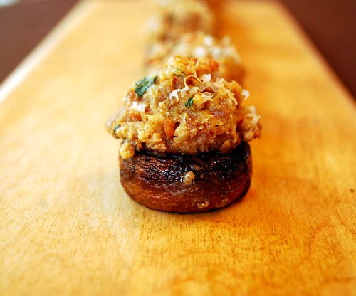 Sausage Stuffed Mushrooms 2