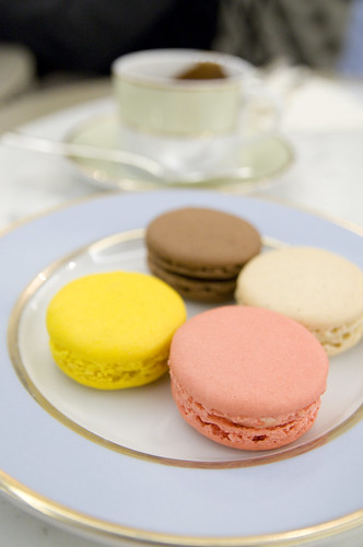 Macarons, Ladurée Salon de Thé, Mitsukoshi Ginza