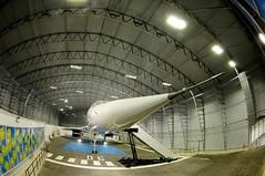 Concorde Alpha Charlie at Manchester Eco Hangar 4