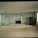 12 empty bedroom with fireplace