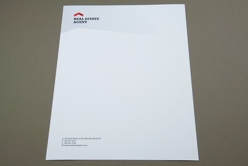 corporate real estate letterhead