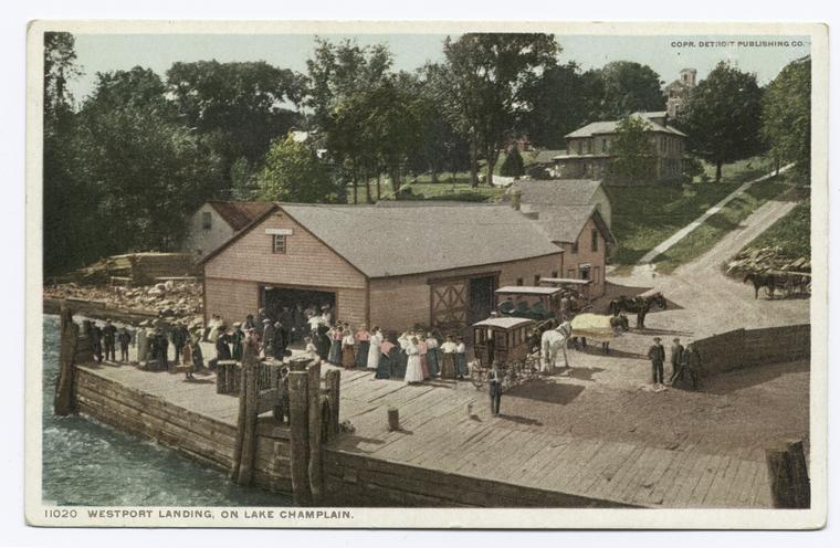Landing at Westport, Lake Champlain, N.Y.