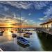 136/365 – HDR – Poole.Sunset.Sandbanks.@.1150×766