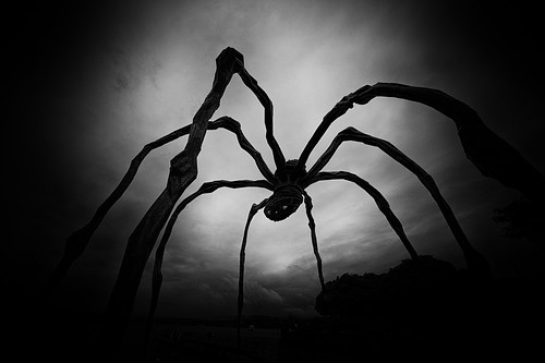 giant spider @ bürkliplatz zürich ‧ switzerland