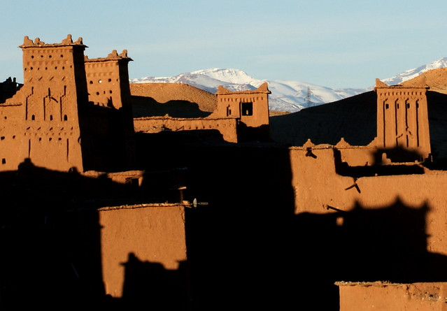 Sunset over Ait Ben Haddou (Explore #97)