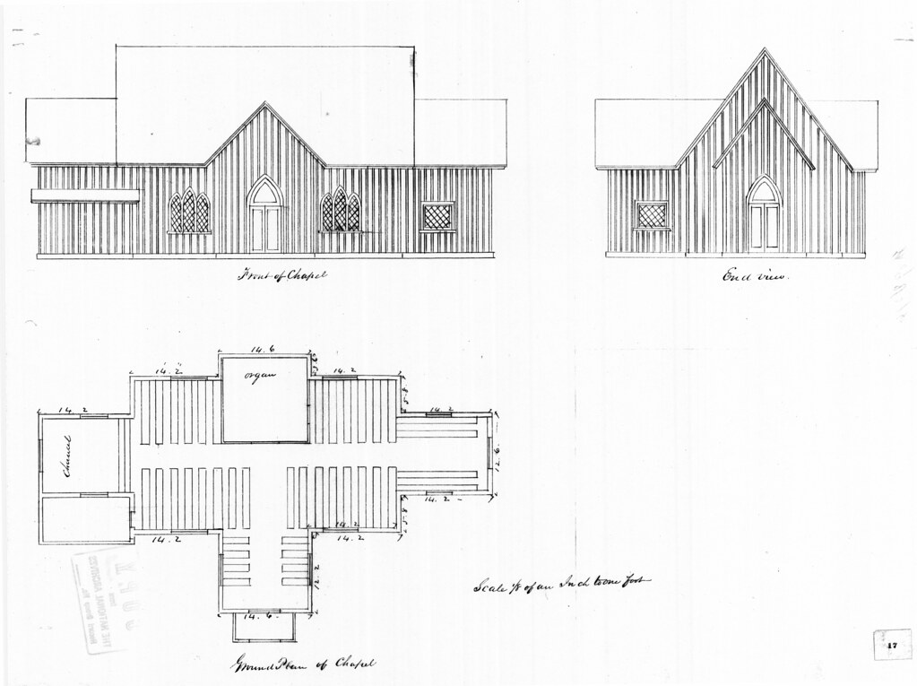 Perfect Governor us Island NY Chapel of St Cornelius the Centurion elevations and floor plan