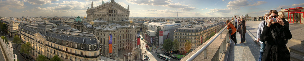 View from Galeries Lafayette