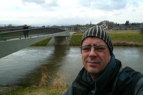 Selbstportrait am Flugplatz Bonames 2009