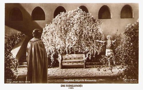 Die Nibelungen I: Siegfried begrüsst Kriemhild