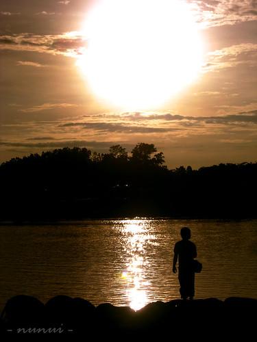 city november sunset lake man alone dusk being rudolf proton tasik perak awesomeshot expressyourselfaward