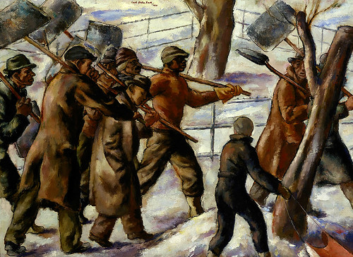 Jacob Getlar Smith: Snow Shovellers, 1934