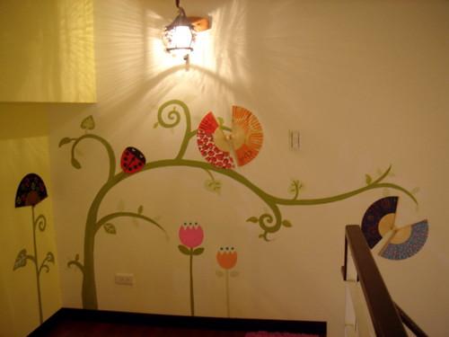 11卧室手绘墙