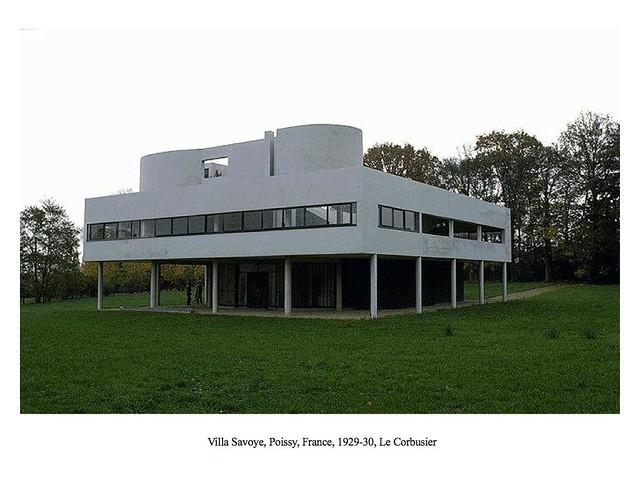 Photo - Villa savoye poissy francia ...
