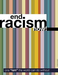 Image of end racism now by Michael Thompson